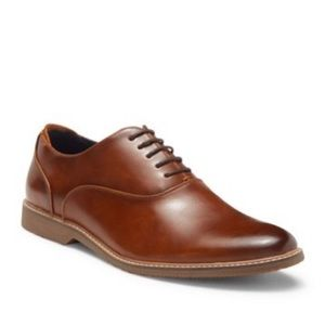 Steve Madden:  Ollie Leather Oxford 11.5 Brown/Tan